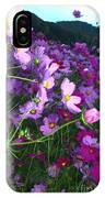 Field Of Pink IPhone Case