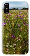 Field Of Thistles IPhone Case