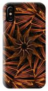 Fiery Pinwheel IPhone Case