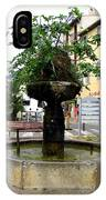 Fig Tree Fountain In Cassis IPhone Case