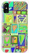 find U'r Love found    v18 IPhone Case