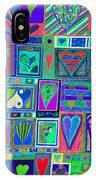 find U'r Love found    v13 IPhone Case