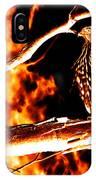 Fire Hawk 0112 IPhone Case