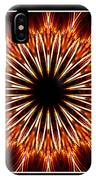 Fire Kaleidoscope Effect IPhone Case