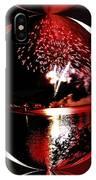 Fireball Lake IPhone Case