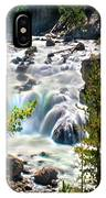 Firehole River Falls IPhone Case