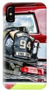 Fireman - Helmet IPhone Case