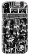 Fireman - Jackets Helmets And Boots IPhone Case