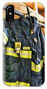 Fireman - Saftey Jacket IPhone Case
