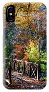 Fire's Creek Bridge IPhone Case