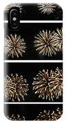 Firework Lifecycle 1 IPhone Case