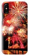 Fireworks Away IPhone Case