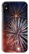 Fireworks Rectangle IPhone Case