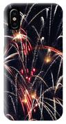 Fireworks Two IPhone Case