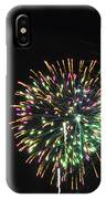 Fireworks With Moon IIi Fm3p IPhone Case