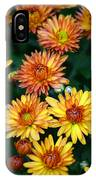 First Fall Mums IPhone Case