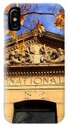 First National Bank IPhone Case