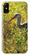 First Year White Ibis IPhone Case