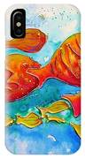 Fish Abstract Painting IPhone Case