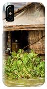 Fisherman Boat House IPhone Case