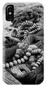 Fisherman Sleeping On A Huge Array Of Nets IPhone Case