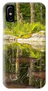 Fisherman's Dream Trout Pond IPhone Case