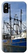 Fishing Boats At Dock IPhone Case