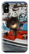 Fishing Boats Mykonos IPhone Case