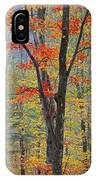 Flaming Fall Foliage IPhone Case