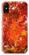 Flaming Maples IPhone Case