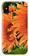 Flaming Sunflowers IPhone Case