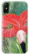 Flamingo Mask 2 IPhone Case