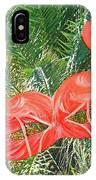 Flamingo Mask 4 IPhone Case