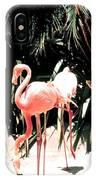 Flamingo Struts IPhone Case