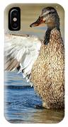 Flapping In The Breeze IPhone Case