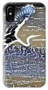 Flight Of The Egret V5 IPhone Case