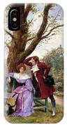 Flirtation IPhone Case