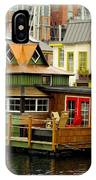 Float Home Fishermans Wharf IPhone Case