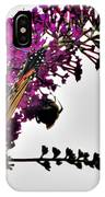 Float Like A Butterfly Sting Like A Bee IPhone Case