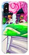 Floating Thru Mardi Gras 4 IPhone Case