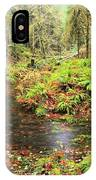 Flood In The Forest IPhone Case