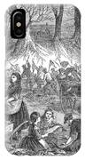 Flood Of Fish, 1867 IPhone Case