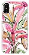 Floral Fourteen IPhone Case