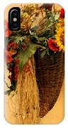 Floral Horn Of Plenty IPhone Case
