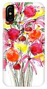 Floral Thirteen IPhone Case