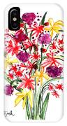 Floral Three IPhone Case