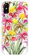 Floral Twelve IPhone Case