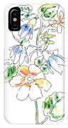 Floral Watercolor Paintings 4 IPhone Case