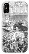 Florence: Horse Race, 1857 IPhone Case