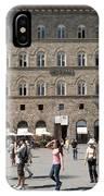 Florence Piazza Della Signoria IPhone Case
